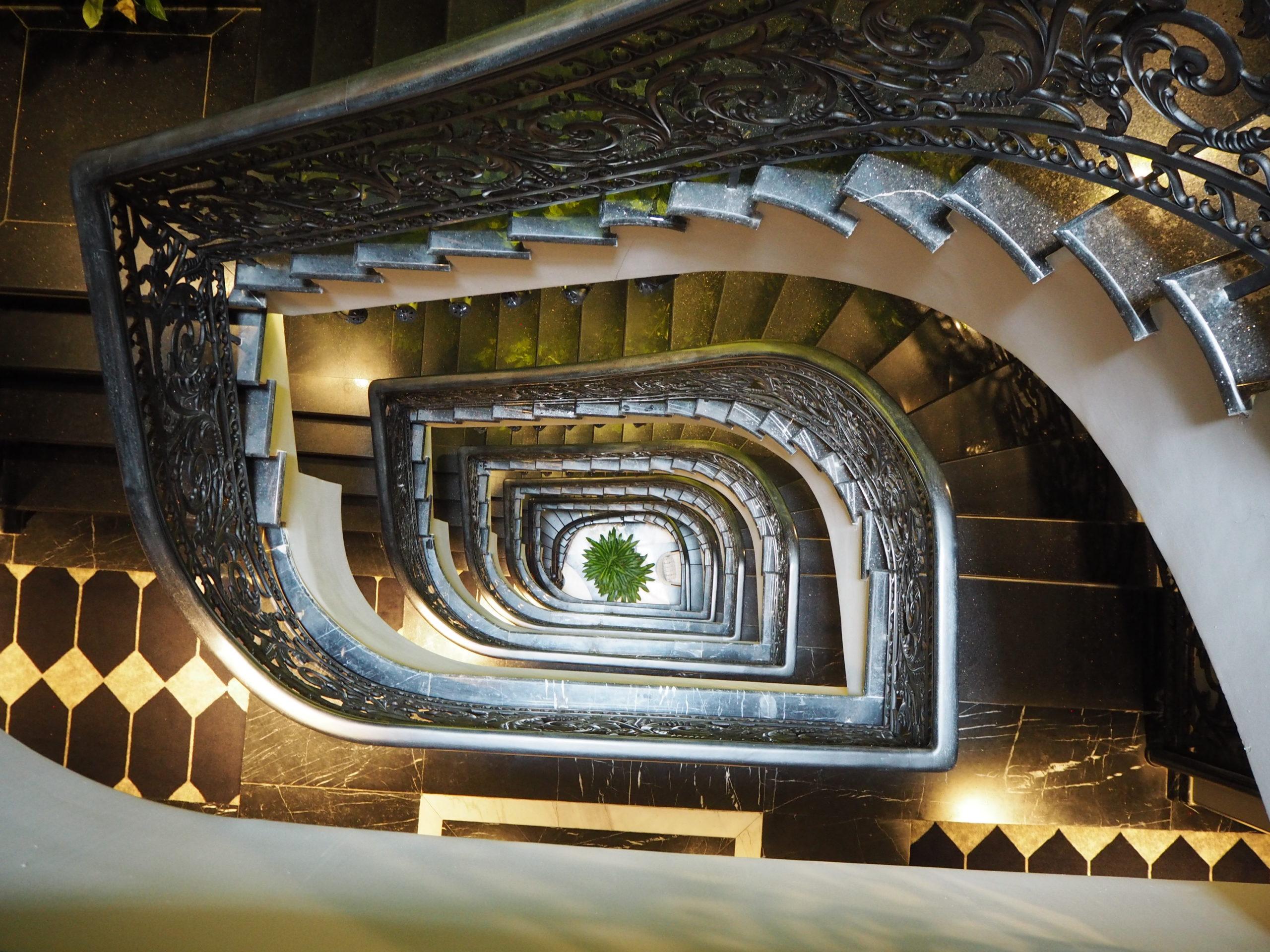 迷宮入り螺旋階段