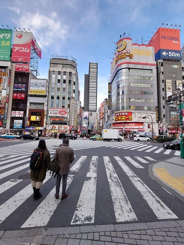 緊急事態宣言下の歌舞伎町